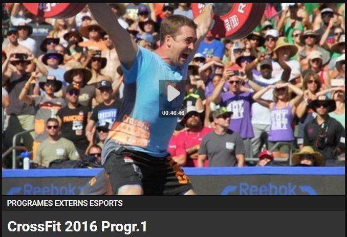 Els CrossFit Games arriben a TV3!
