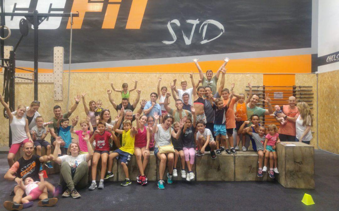 CrossFit Mini, per a nens i nenes de 6 a 12 anys