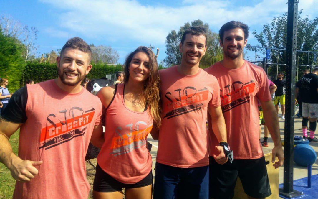 Tres equips de CrossFit SJD competeixen al Costa Brava Fitness Challenge