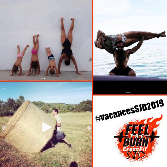 Concurs de fotos i vídeos de CrossFit a les vacances 2019